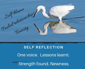 Self reflection by Sakshi, ALVN writer