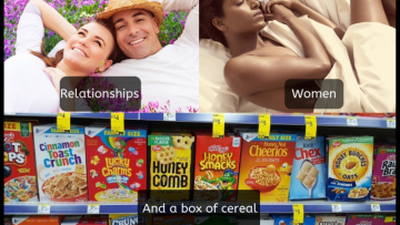 Relationships and a box of cereal