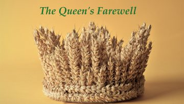crown made of wheat ears of cereals on a yellow background – Featured Image